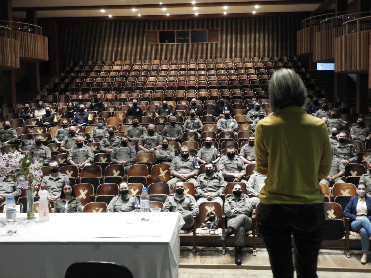 3º BPAT promove palestra alusiva ao Setembro Amarelo em Bento