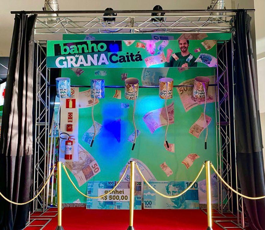 Caitá de Bento lança a promoção Banho de Grana, em Bento
