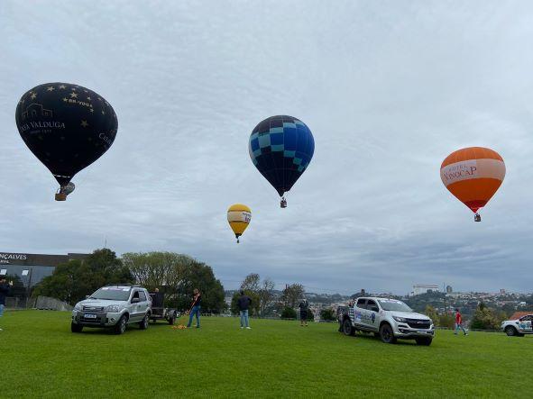 Festival de Balonismo inicia em Bento