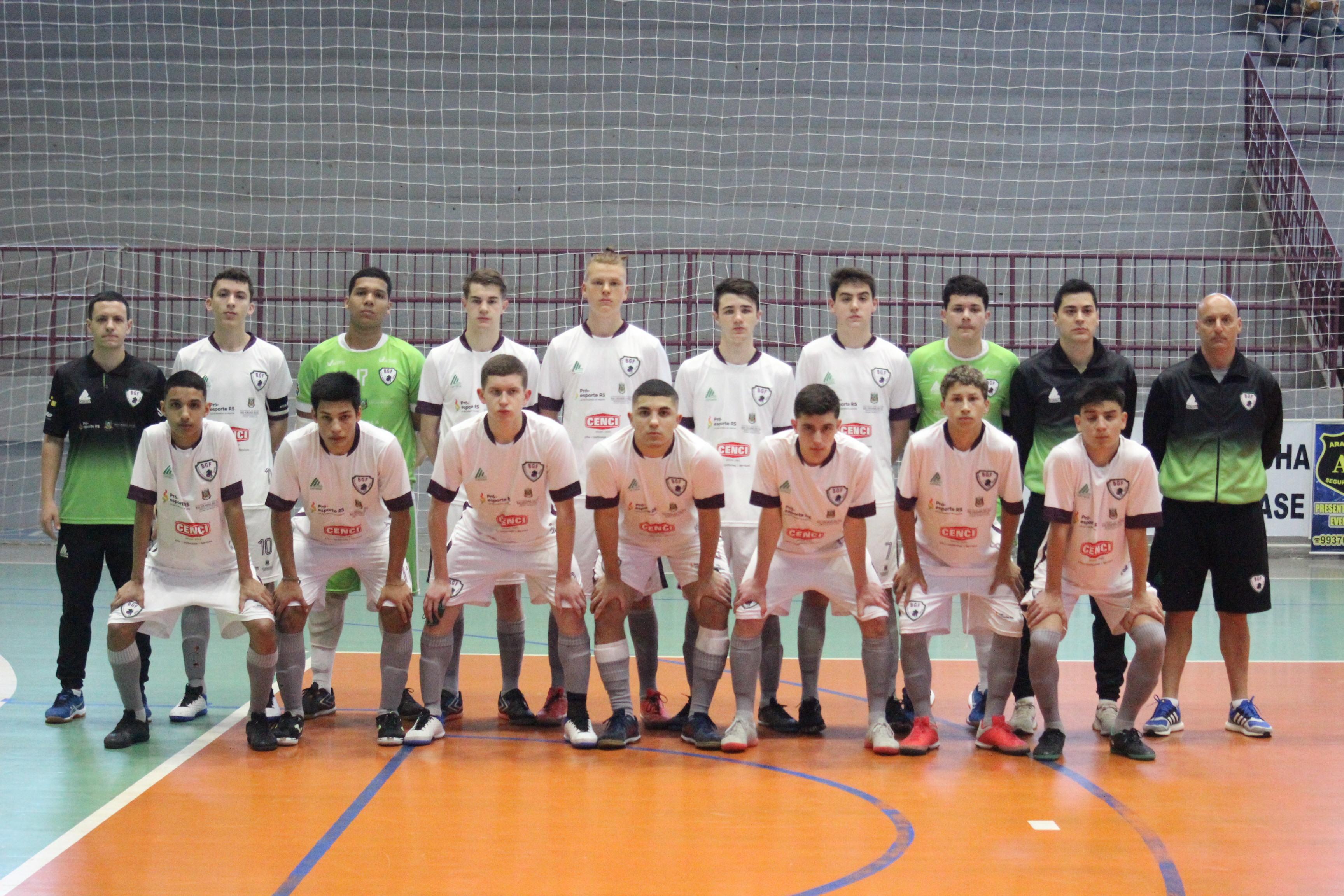 Equipe sub-17 do BGF disputa a Taça Brasil nesta semana
