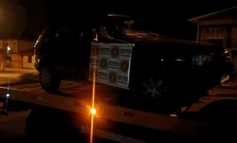 Indivíduo é preso após roubo de veículo em Garibaldi