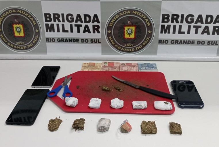 Homem é preso por tráfico de drogas no bairro Basalto, em Nova Prata