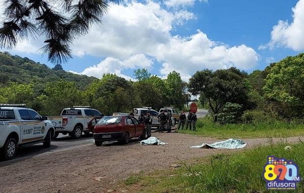 Três criminosos morrem em confronto com a Brigada Militar na RSC-453, em Garibaldi