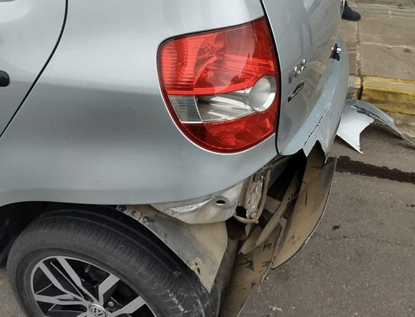 Acidente de trânsito envolvendo três veículos é registrado no Maria Goretti, em Bento