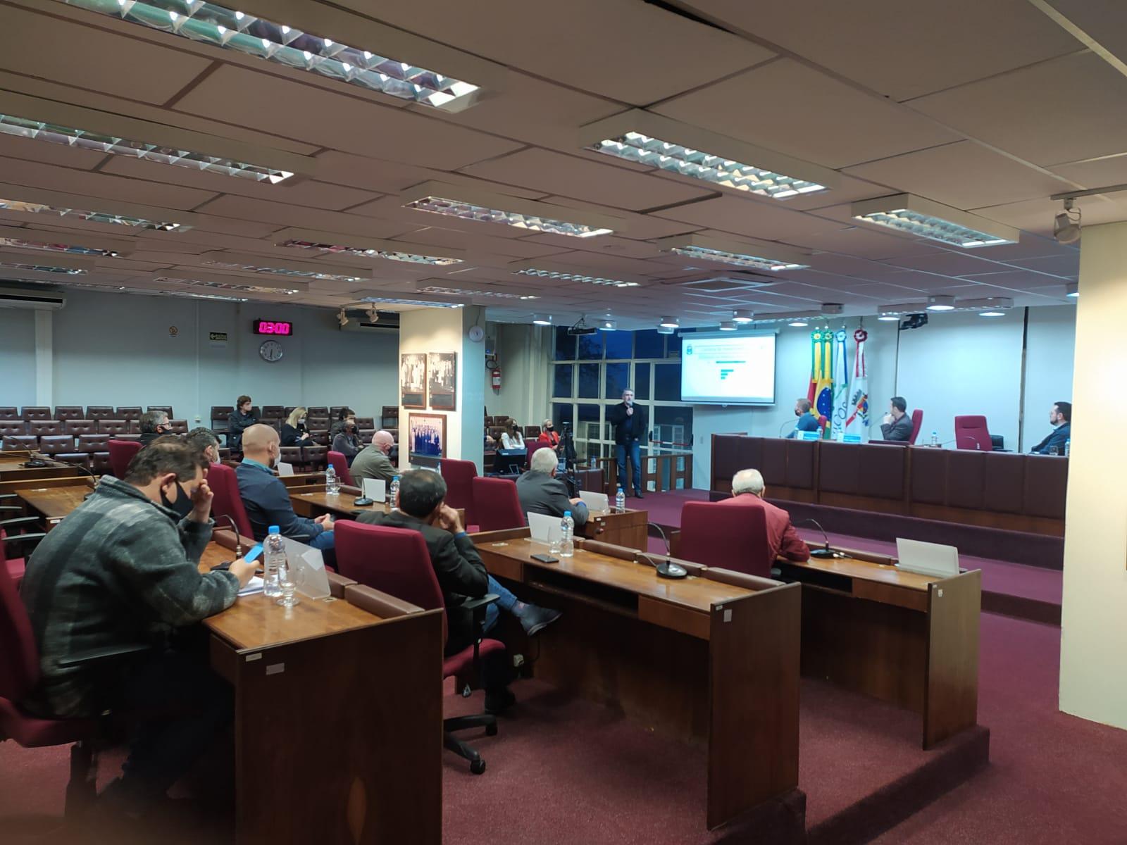 FAPSBENTO presta contas em audiência pública na Câmara Municipal