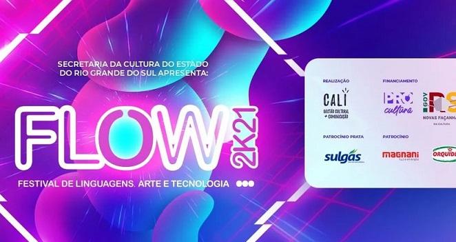 1ª edição do FLOW abre convocatória para artistas do RS