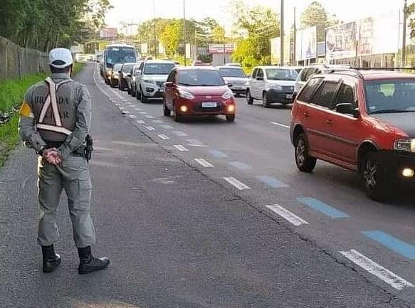 Comando Rodoviário da Brigada Militar intensifica fiscalização em todo Estado no feriado de Nossa Senhora Aparecida