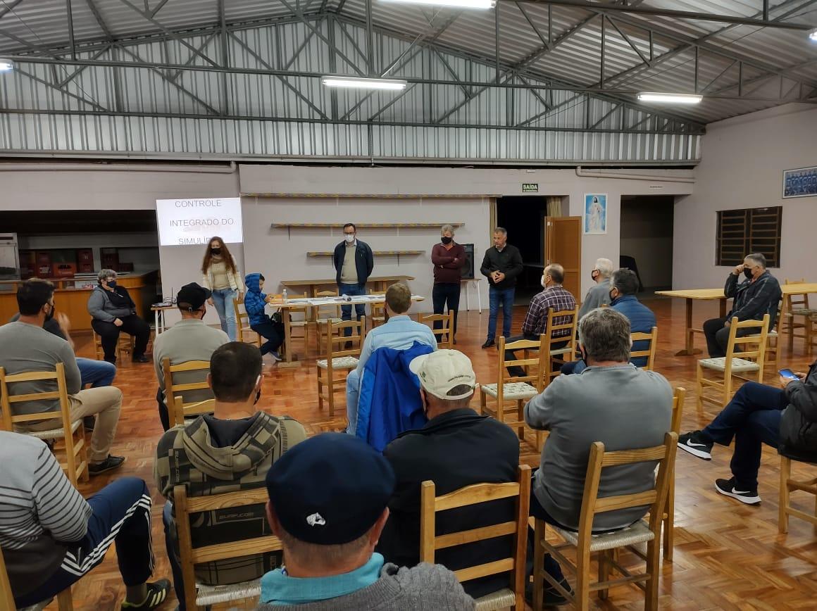 Palestra sobre aplicação de BTI é realizada no Distrito de São Pedro, em Bento