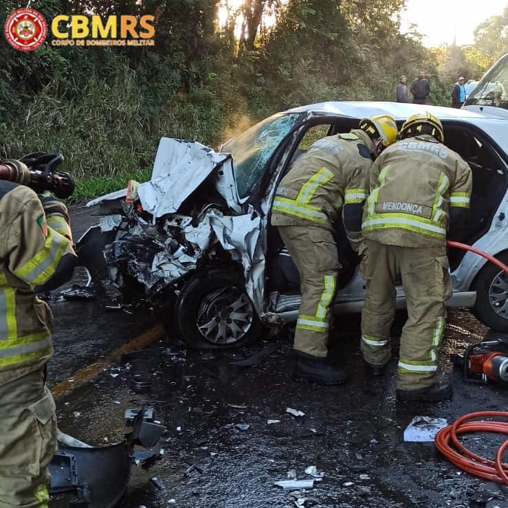 Mulher morre em acidente de trânsito entre Veranópolis e Fagundes Varela