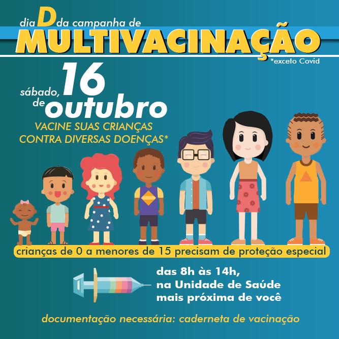 Dia D de vacinação será realizado no sábado, em Bento