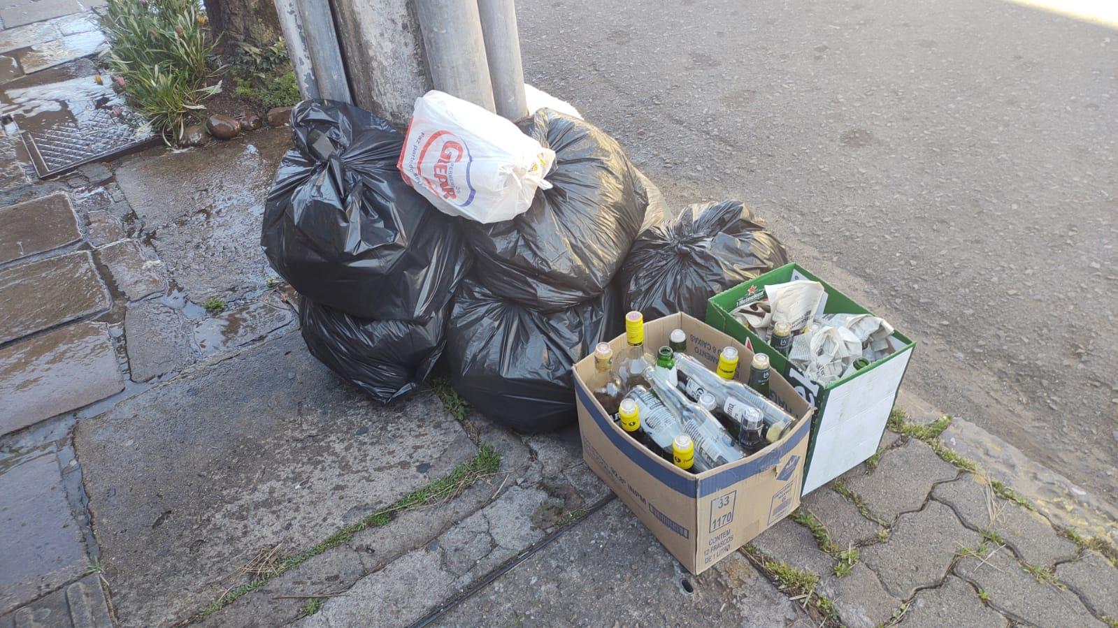 Sensibilização sobre a coleta de lixo é realizada pela Secretaria de Meio Ambiente