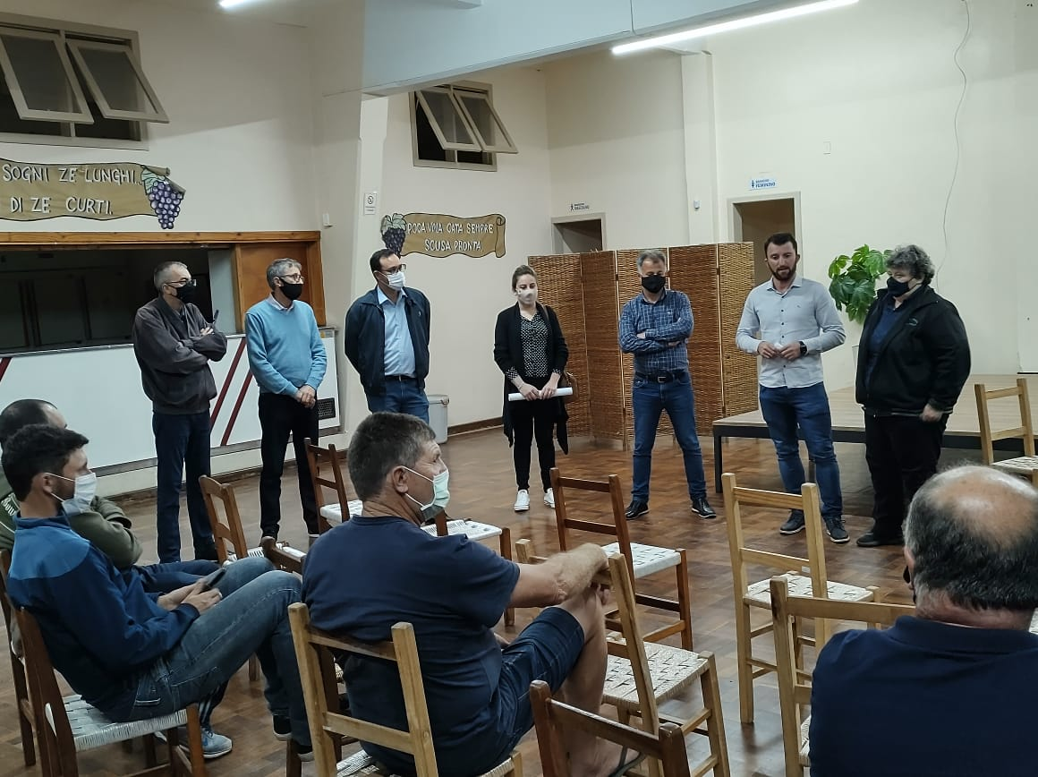 Palestra sobre aplicação correta do BTI é realizada em Faria Lemos, em Bento