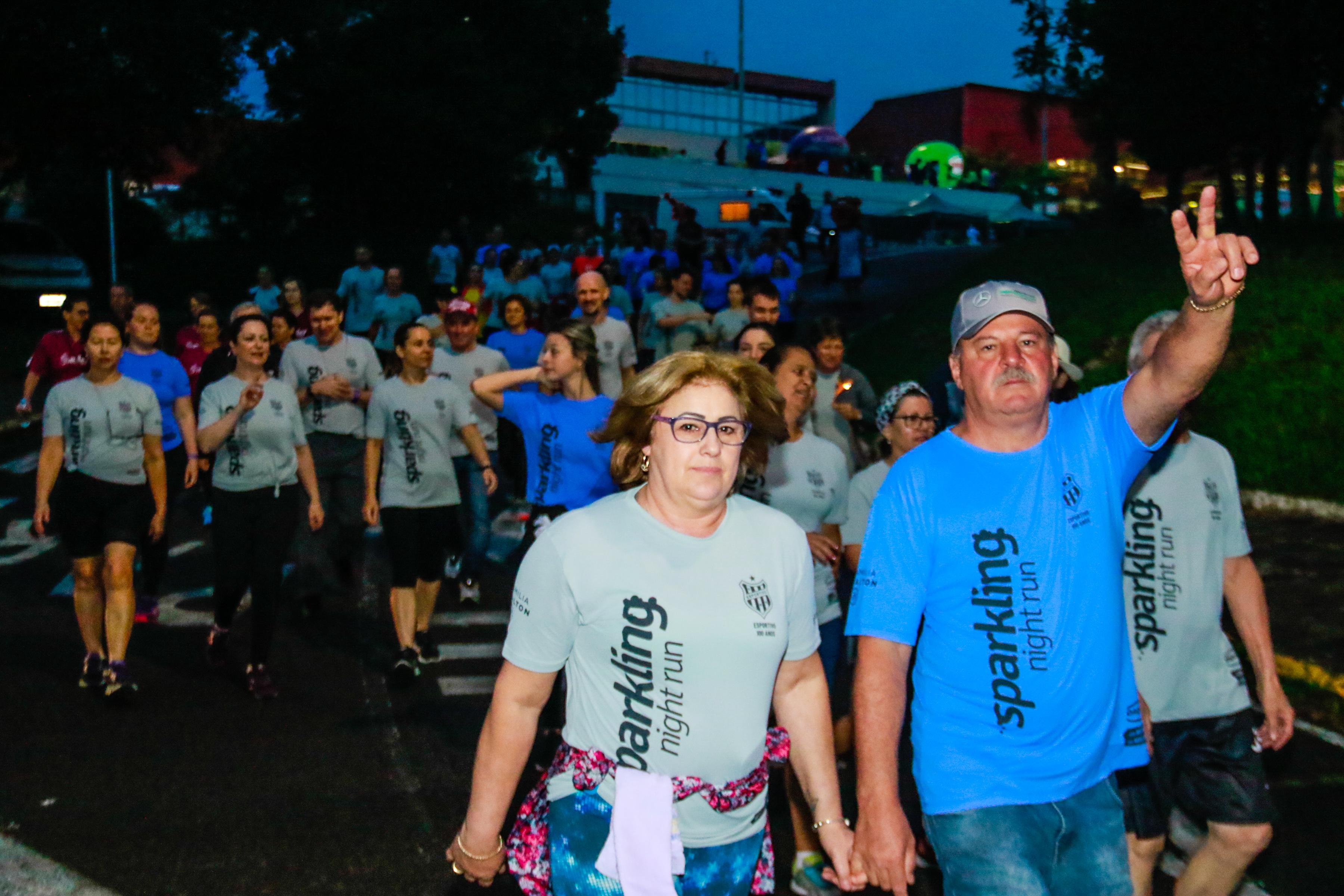 Treino solidário prepara atletas para a Sparkling Night Run