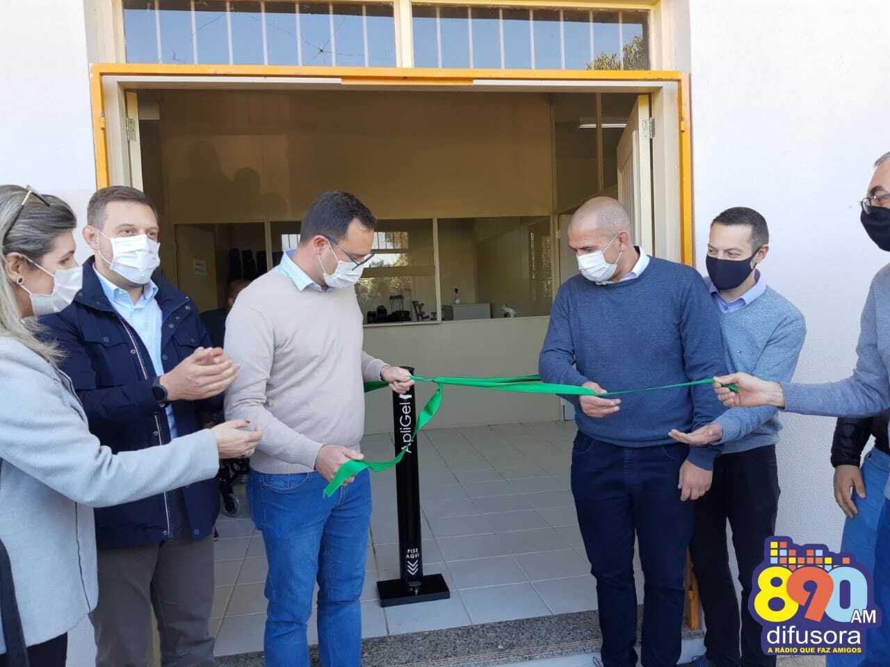 Banco de Materiais Ortopédicos é inaugurado oficialmente em Bento