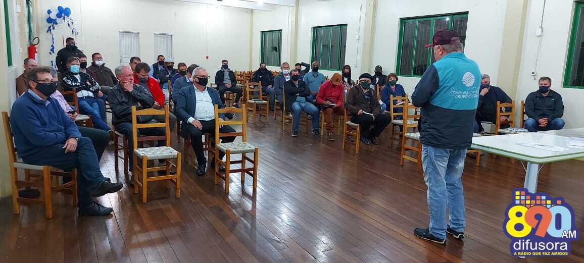 Bento: UACB realiza encontro com Brigada Militar e Polícia Civil para tratar da segurança nos bairros