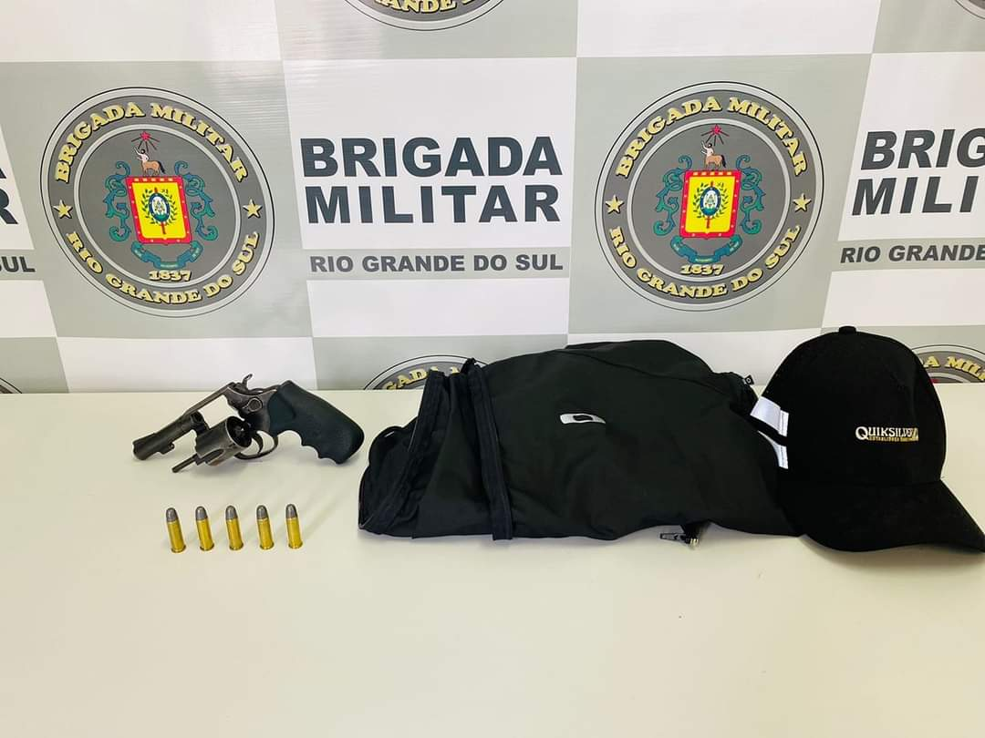Suspeito de roubos a lotérica é preso pela BM em Caxias do Sul
